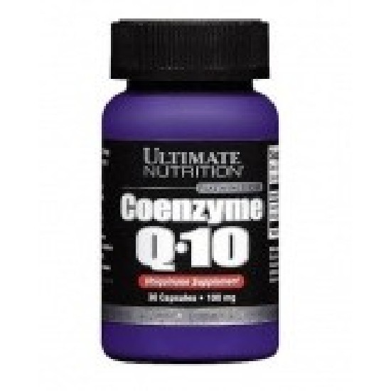 Ultimate Nutrition Coenzyme Q-10 100 мг Коэнзим Q10