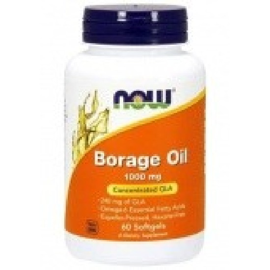 Купить NOW Borage Oil 1000 mg