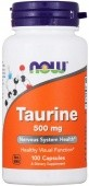 NOW Taurine 500 мг