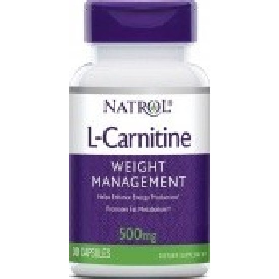 Natrol L-Carnitine 500 mg Л-Карнитин