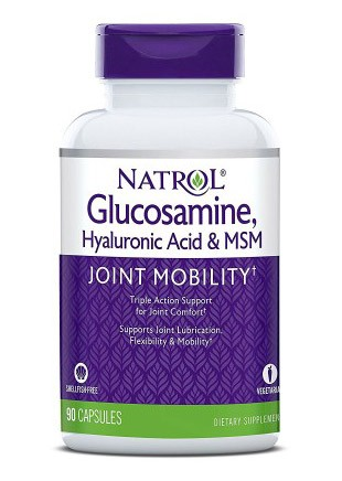 Hyaluronic Acid MSM and Glucosamine