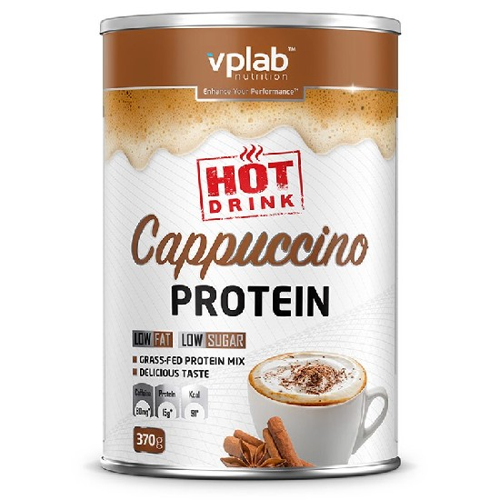 VP Laboratory Cappuccino Protein Hot Drink Протеин мультикомпонентный