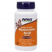 NOW Hyaluronic Acid 100 mg 2x Plus