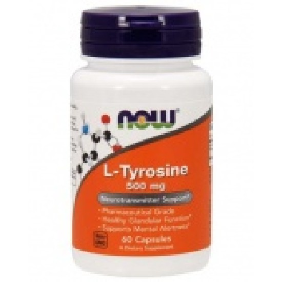 Купить NOW L-Tyrosine 500 мг