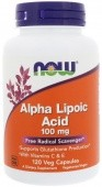 NOW Alpha Lipoic Acid 100 мг
