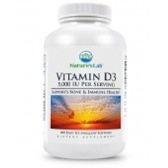 Nature's Lab Vitamin D3 5000 Витамин D