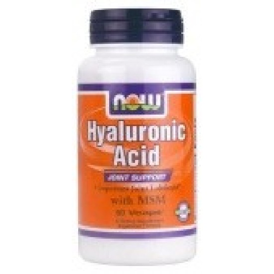 NOW Hyaluronic Acid 50 мг + MSM