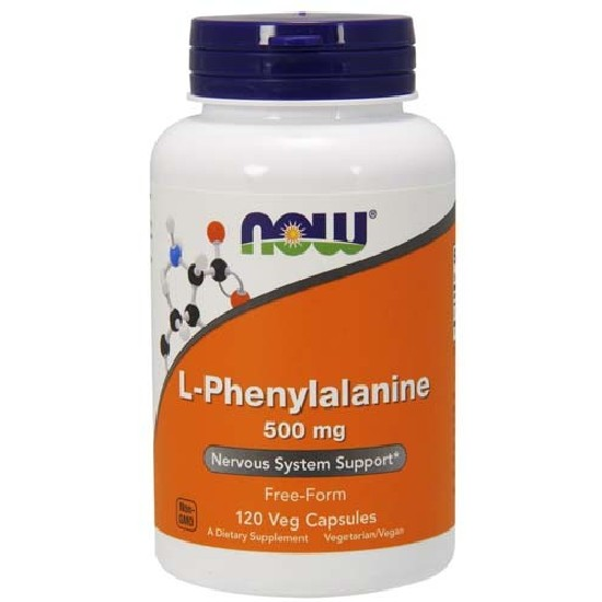 Купить NOW L-Phenylalanine 500 мг