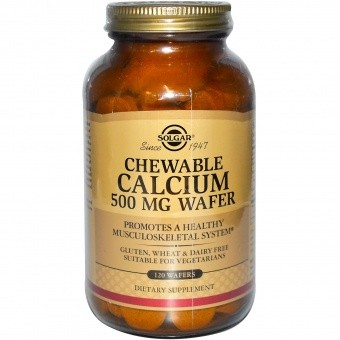 Solgar Chewable Calcium 500 мг