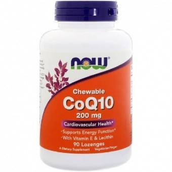 NOW CoQ10 200 mg Коэнзим Q10