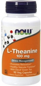 NOW L-Theanine 100 мг
