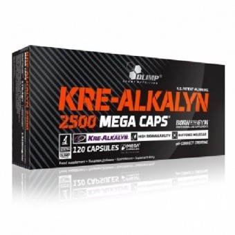 Olimp Kre-Alkalyn 2500 Mega Caps Креатин