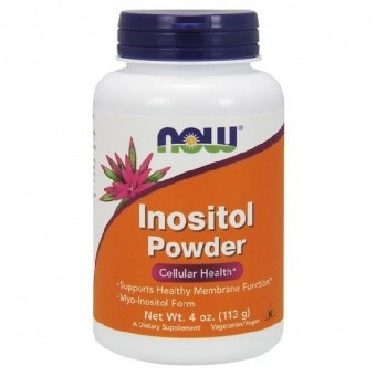 NOW Inositol Powder Vegetarian NOW 4 oz (113 гр)