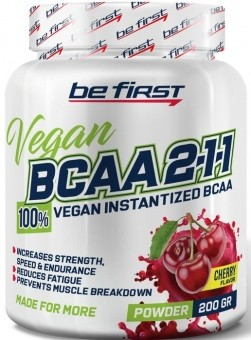 Be First BCAA 2:1:1 Vegan powder